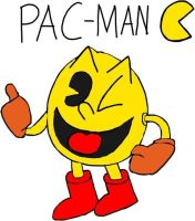 Pac-Man by tanlisette