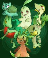 Grass Starters by lagendarylugia