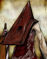 Pyramid Head Fanart by TDA-3d