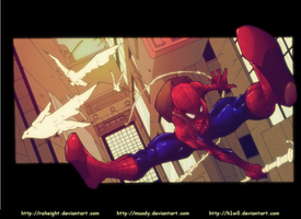 Spiderman by H1W0