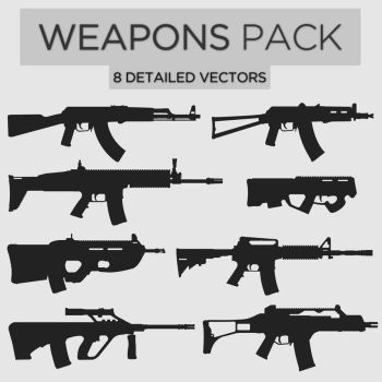 Weapons Pack #1 by Zee-Who