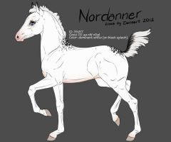 3587 Nordanner foal design by Ikiuni