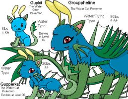 OLD Water Starter Pokemon by PokemonMasta