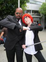 Fanime'12: Reno and Rude by theEmperorofShadows