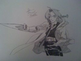 Edward Elric Automail From Full Metal Alchemist by captonstu