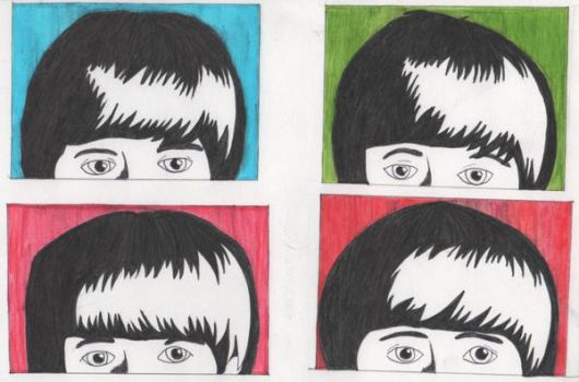 Beatle Heads by Stargirll