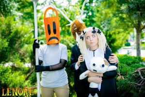 Lenore, Taxidermy and Pooty Applewater Cosplay - 3 by valeravalerevna