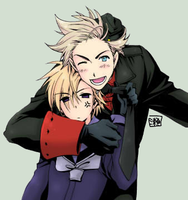 APH: DenxNor - colored by ayochan