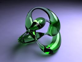 Green Glass by ART-HAUS-STUDIOS