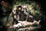 Photoshoot 2015 : Celtic Wolf warrior 4 by Deakath