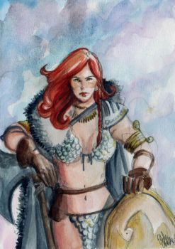 Red SonJa by Stef125