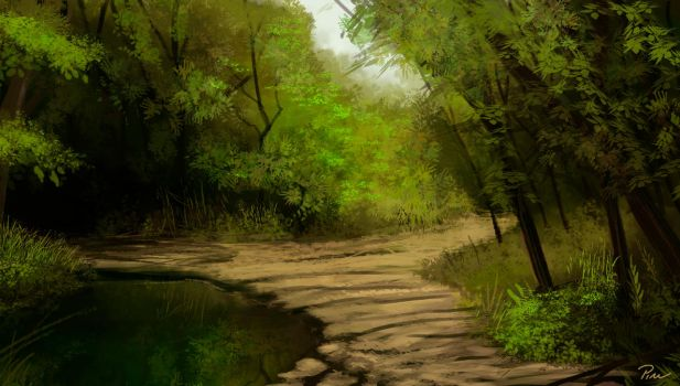 Speed Painting 01 by Amartia