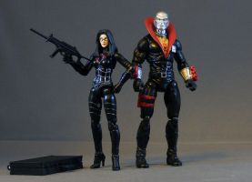 Destro and the Baroness by maulsballs