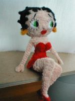 Pipe Cleaner Betty Boop by fuzzymutt