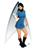 Star Trek Commission Pin Up by Mro16
