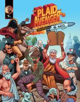 Plaid Avenger's Wester World by plaidklaus
