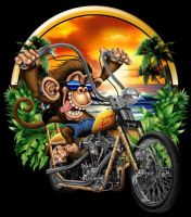 Monkey Chopper by russellink