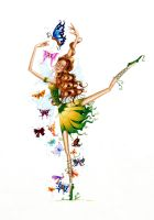 'Butterfly Dance' by Sharonfae