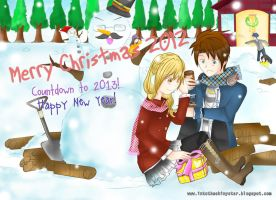Merry Christmas 2012 and Countdown to 2013! by karenivaa