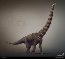 Puertasaurus. The Stomping Land. 03 by Swordlord3d