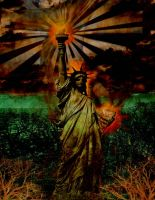 Statue of Liberty Collage. by Anvilous