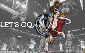 2011 NBA Finals Wallpaper by Angelmaker666
