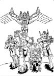 Transformers NewTeenTitans 1 con i Predacon G1 by JazzLuca