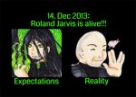 Roland Jarvis is alive! by oliko