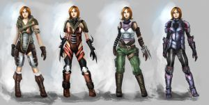 armor concept by Milish