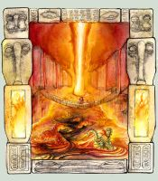 Fire temple by Qlockwork