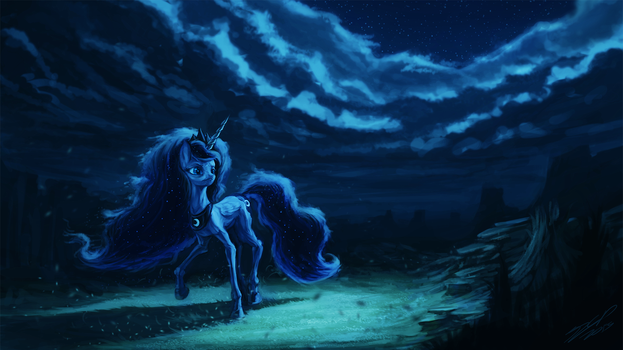 Mare in the Midnight by AssasinMonkey