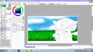 Preview Drawing improved of Sonamy by I-G-imagination
