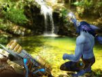 Waterfall by Animellarex