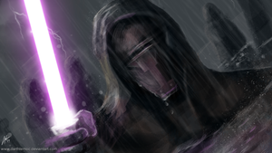 Revan's mask by DarthTemoc