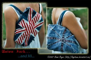 Original: Union Jack and Jill by Kagitsune