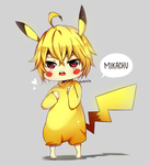 ONS: Mikachu by evenica