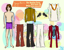 GEORGE HARRISON PAPER DOLL 3 by 89000007ANL