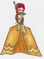 Lady of the French Court by SirenAnimations