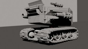 Tank WIP Front by Eckko