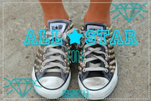 All Star Font by silly-luv