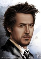 Robert Downey jr by ARTofPSP