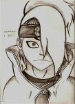 Deidara-what? by wolfgirl832