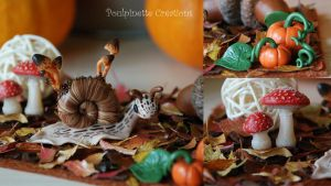 Litlle fairy world : Autumn II by PoulpinetteCreations