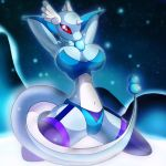 (Photomanipulation) R-mk - Frosty Dragonair by ObsidianObscure