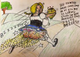 Gretchen in Honey Trouble part 3 by BigAngryBeehive