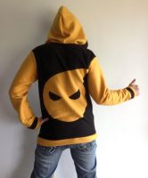 Soul Eater Fleece Cosplay Hoodie Back by Weeaboo-Warehouse