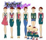 Rugrats Fashion: Phil And Lil by Willemijn1991