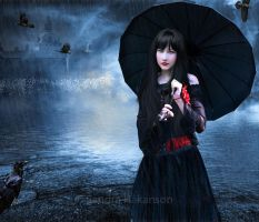 Rain And Ravens by Isoptera