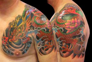 asian dragon by asussman