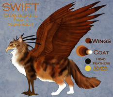 Swift: Ref Sheet by Crickatoo